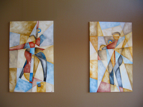 Pied piper designs 3 d murals custom children 39 s for Abstract mural painting