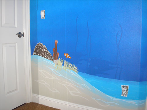 Pied Piper Designs Murals for Children Kids Bedroom Painting